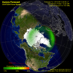 Current Auroral Oval
