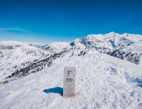 Cima Fournier: sun, snow and snowshoes