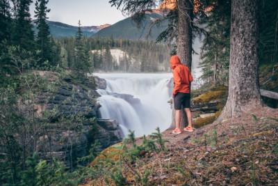 athabasca falls, Jasper NP