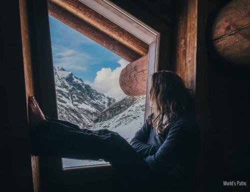 Borroz Hut, a luxury hut
