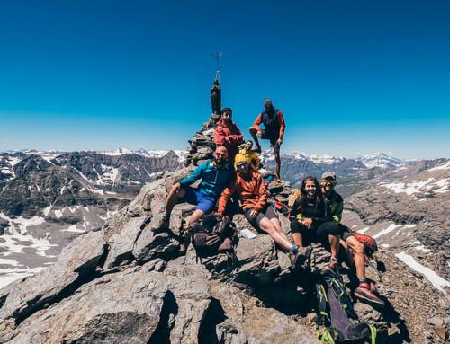 Punta Croce Rossa, a 3.566 metri sulle Alpi Graie
