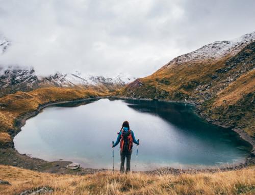 Lago Lavodilec, un bagno gelido in autunno