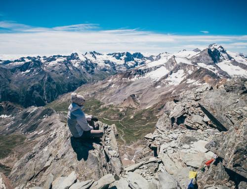 Punta Rossa della Grivola, 3.630 metri sopra il mondo