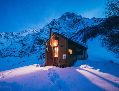 Bivacco Barbero Roberto e la prima neve della stagione