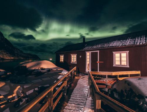 Nusfjord e le prime curve alle Lofoten