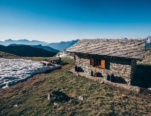 Bivacco Rosaire-Clermont e rieccoci a 3.000 metri