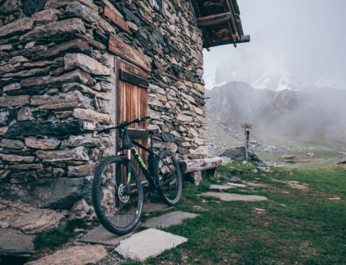 Bivacco del Laus, la prima pedalata