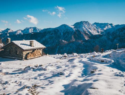 Reconnaissance at the Mont Avic natural park