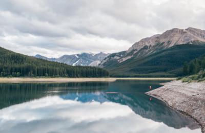 kananaskis Lower Lake, peter lougheed parks