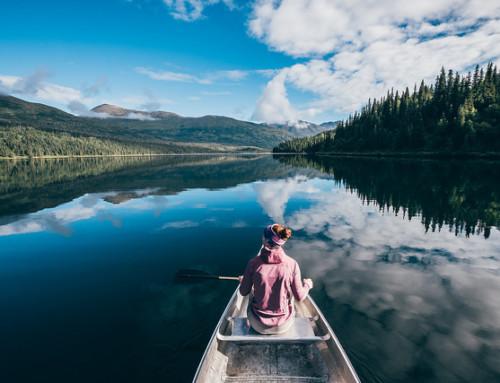 Juneau Lake Cabin e il sentiero dei mirtilli