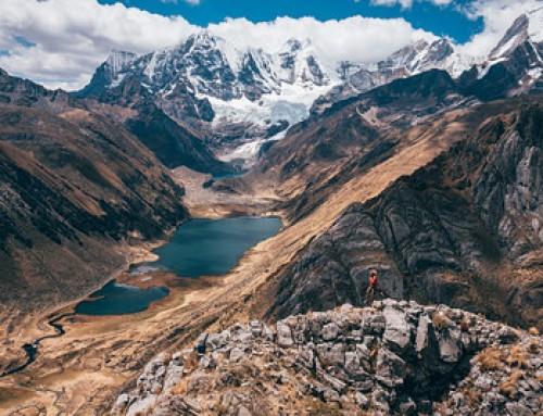 Huayhuash trek – Giorno 6 e 7  La laguna Jahuacocha e i suoi colori