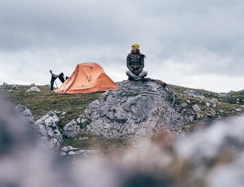 Sul filo di cresta in vetta al Monte Servagno