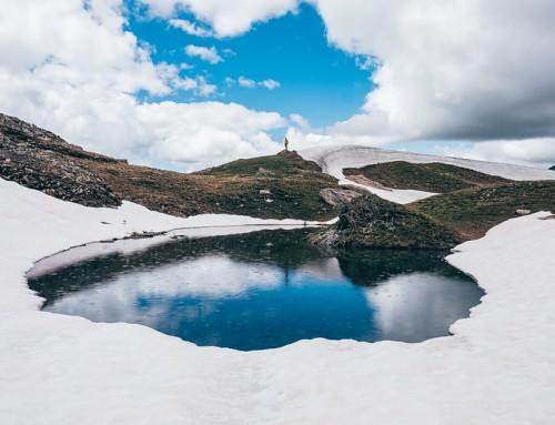 Monte Giornalet, l'ultima neve prima dell'estate
